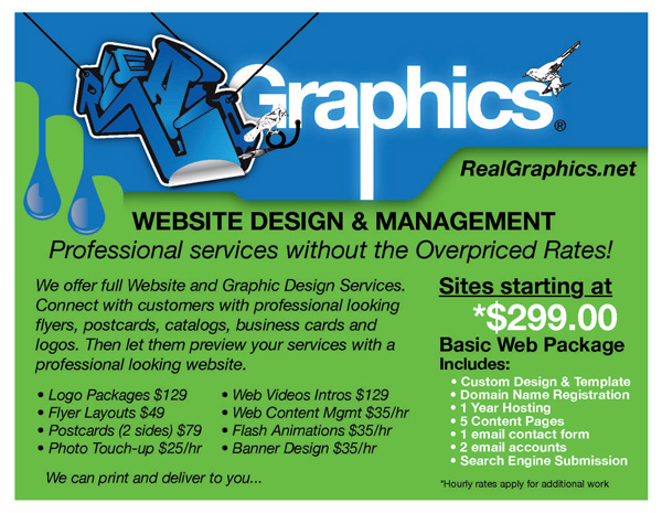 Website starting @ $299