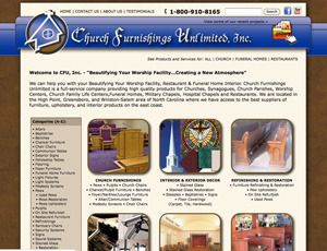 church furn web design